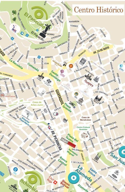 Fiestas Eventos Culturales En Quito Mapas Eventos Culturales Mapa Turístico Mapas