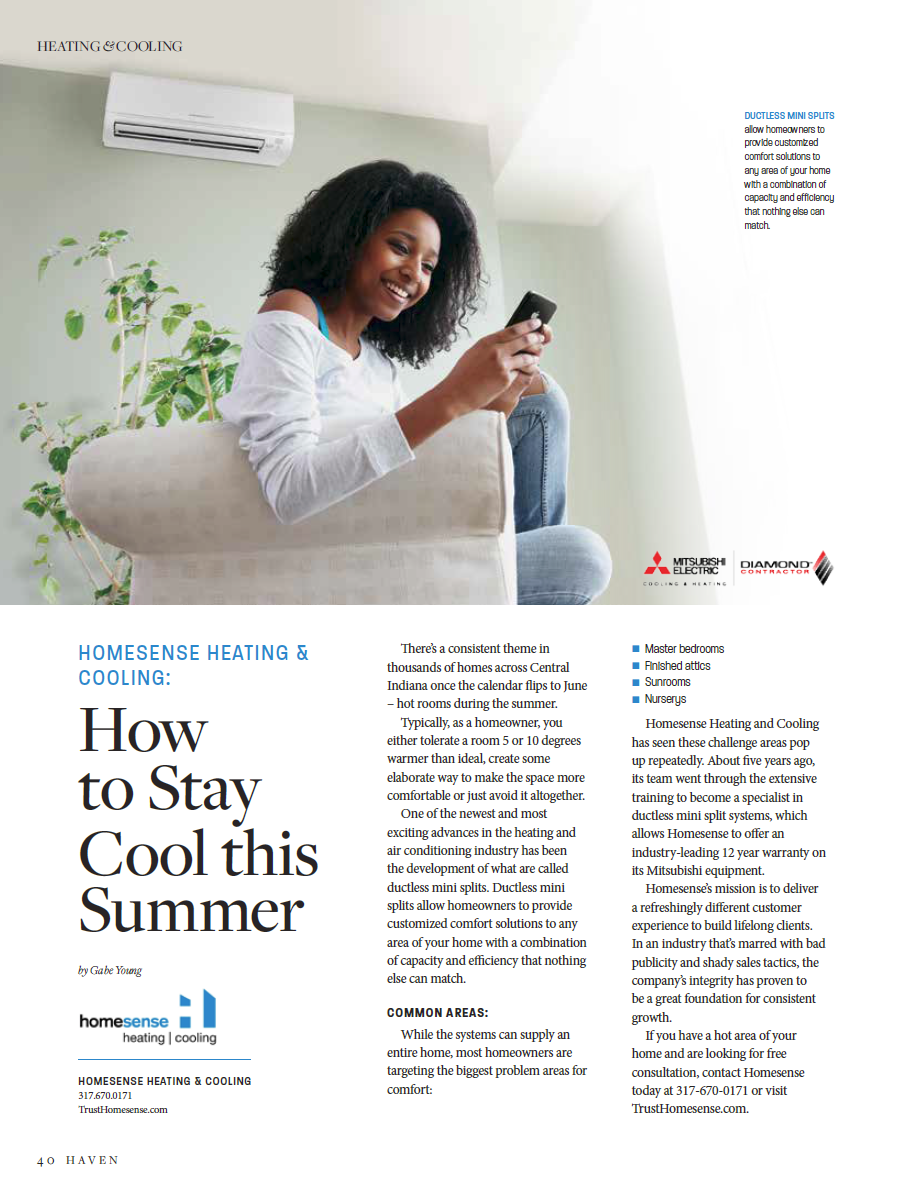 Homesense Heating Cooling How To Stay Cool This Summer With