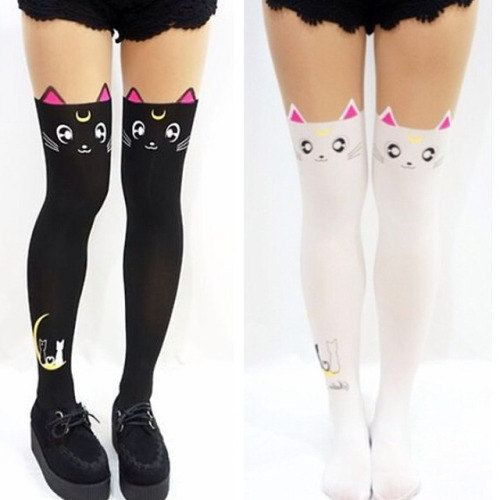 12 Sailor Moon   Luna Tights 29566fd423f