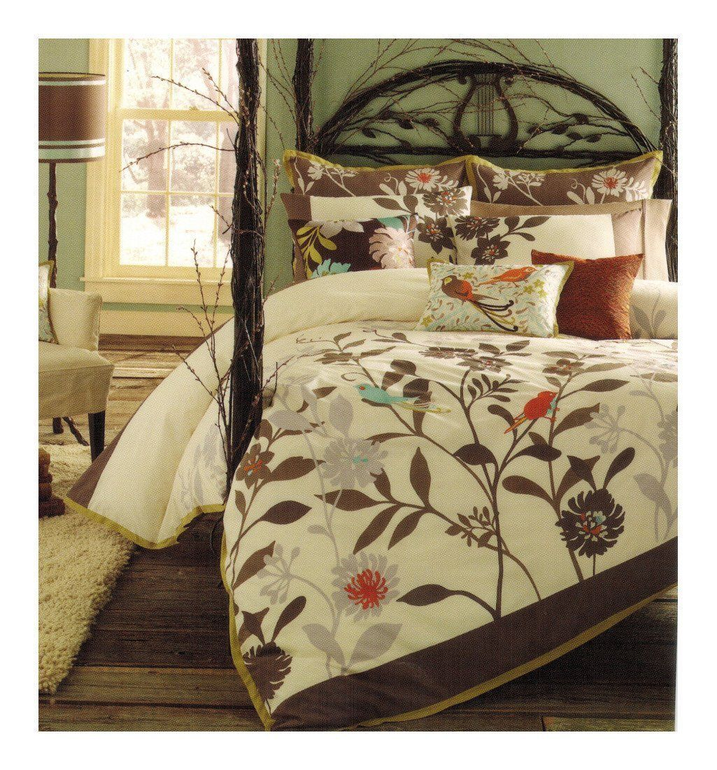 decorative bed set pintuck bedding winsome curtain tommy bahama beach silver for cay duvet king orange sets chair catalina comforter cover