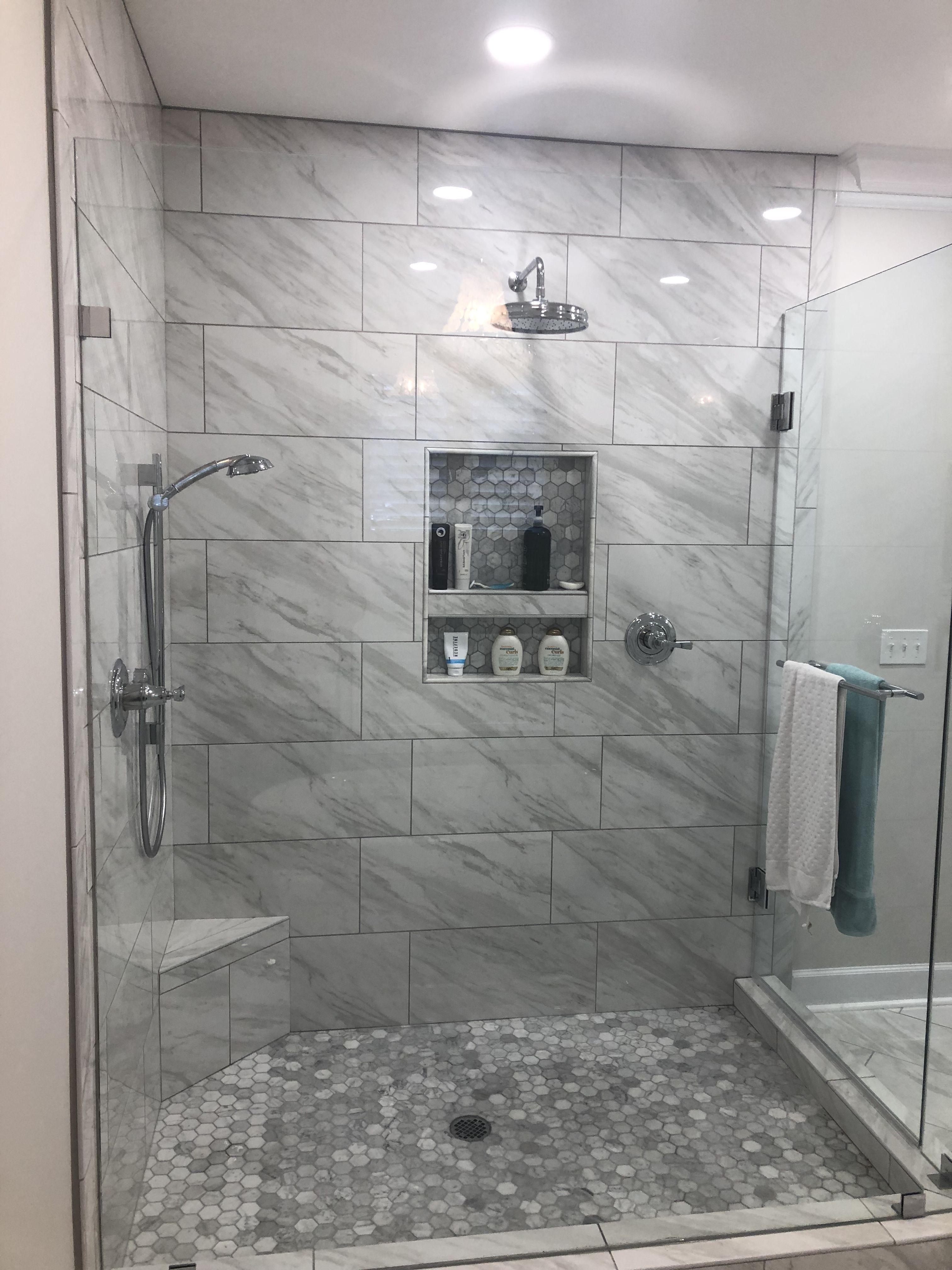 Frameless Glass Corner Shower Masterbathcornershower Master
