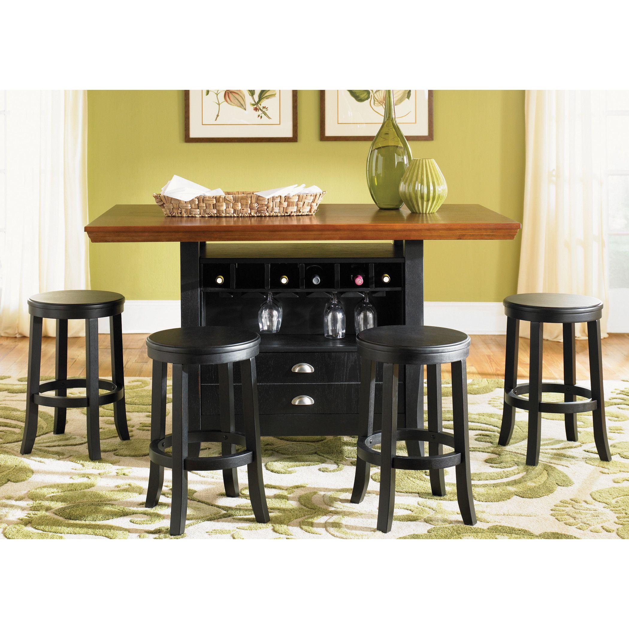 Savorey Granite Top Kitchen Cart Liberty Kitchen islands and