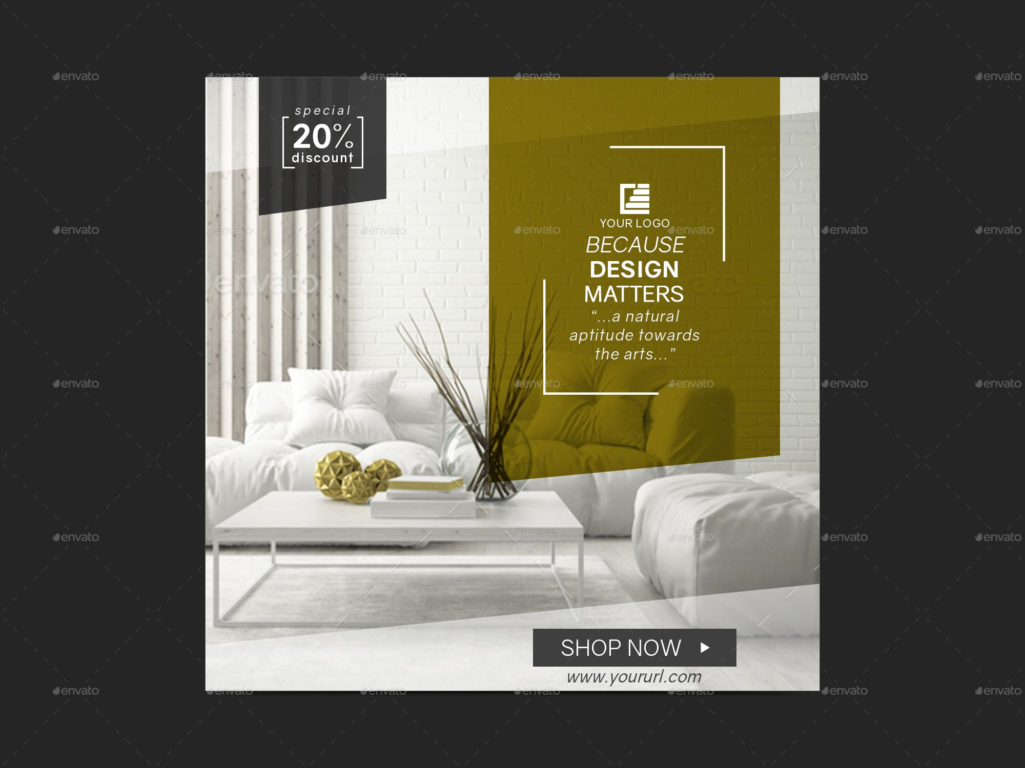 Interior Design Banners In 2020 Banner Design Social Media