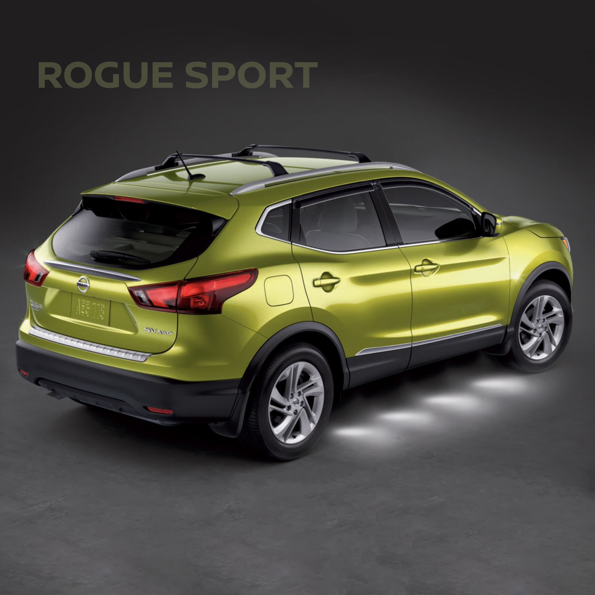The new 2017 Nissan Rogue Sport features camera technology