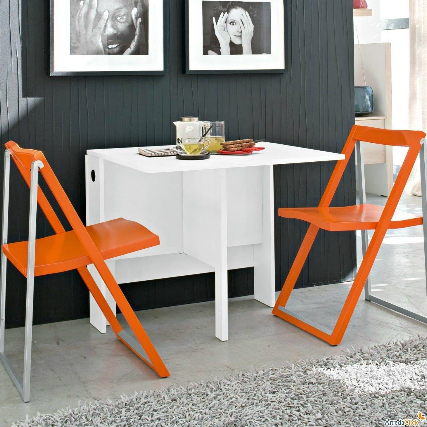 Space Saving Kitchen Table Ideas - Kitchen Counter Decorating Ideas Check more at http://www.entropiads.com/space-saving-kitchen-table-ideas/