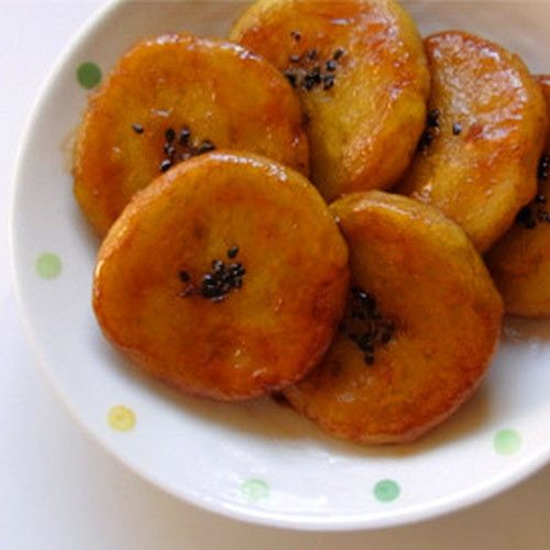 These are sticky and chewy. It's soft and creamy with melted cheese inside. You can cook it and eat just as it is.
