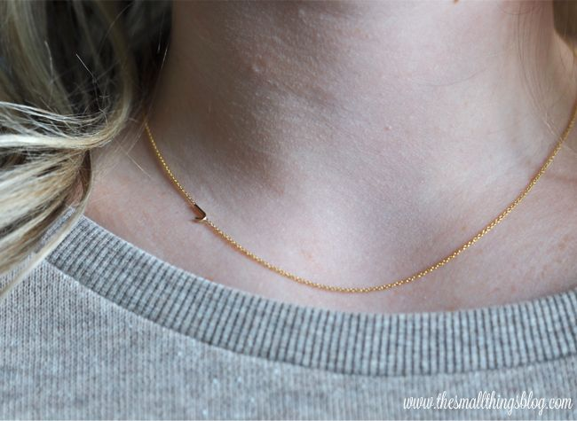 the small things blog loves lately featuring a maya brenner designs necklace