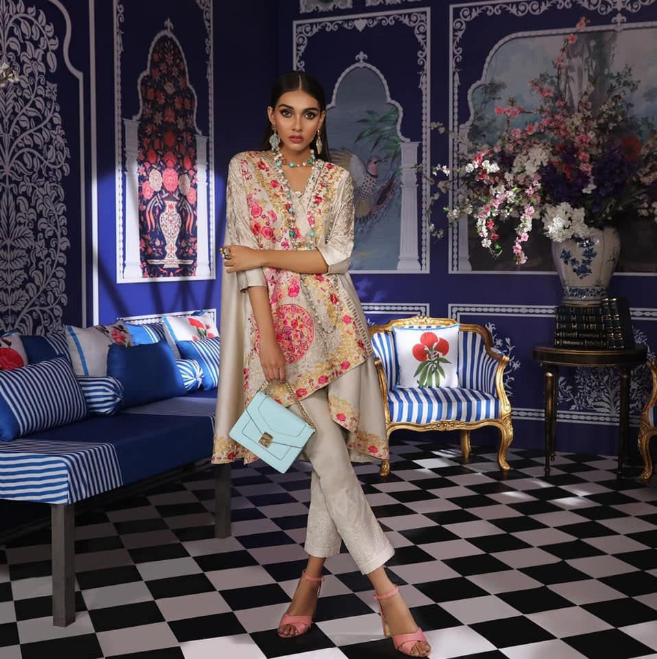 Sana Safinaz Ready to Wear Summer Dresses Collection 2019