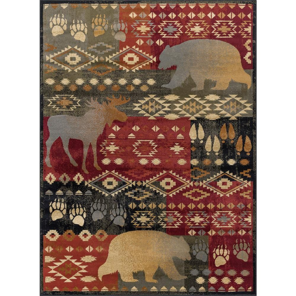 Tayse Rugs Nature Multi 7 Ft 10 In X 10 Ft 3 In Area Rug