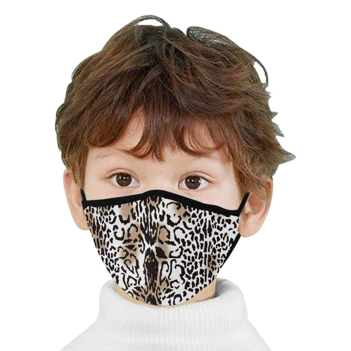 Photo of Leopard Pattern Hand-Made Fabric Face Mask – L