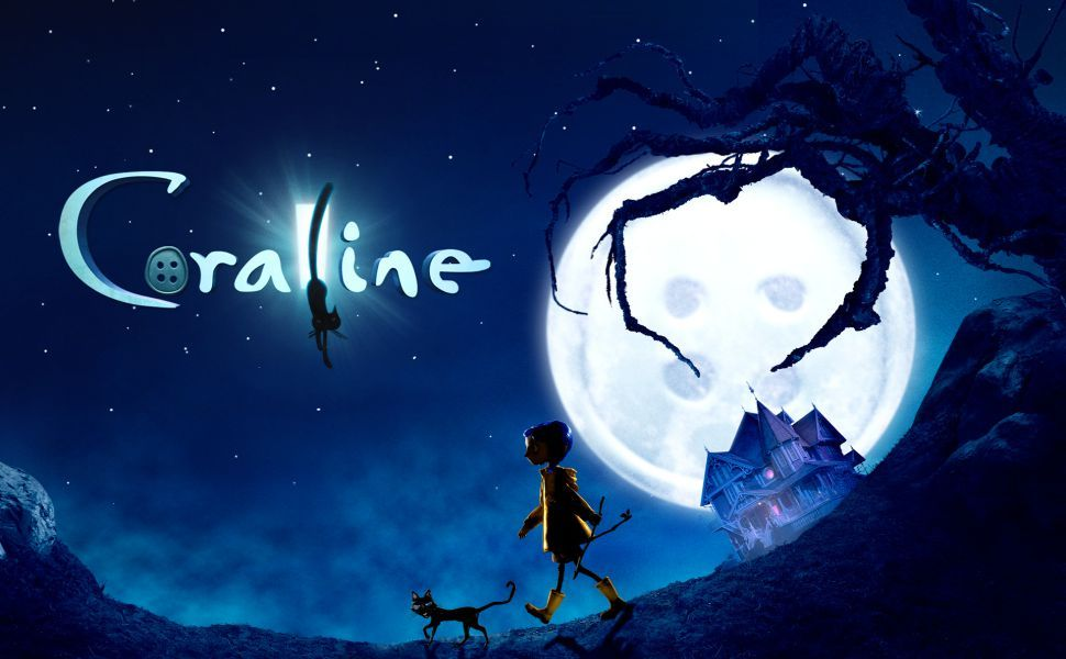 The Gone Girl With Dragon Tattoo Hindi Dubbed Movie Download: 39Coraline39 Poster By CAMI SAMA In 2019 Products Coraline