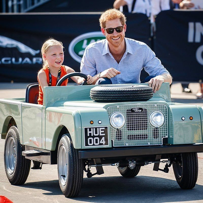 """""""Prince Harry. Top Man."""" By @nickdimbleby #landrover"""