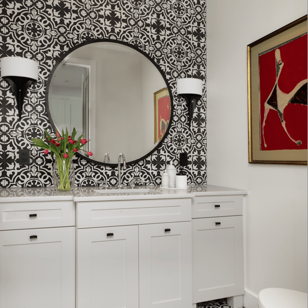 Which White Is Right? #powderroomdesign