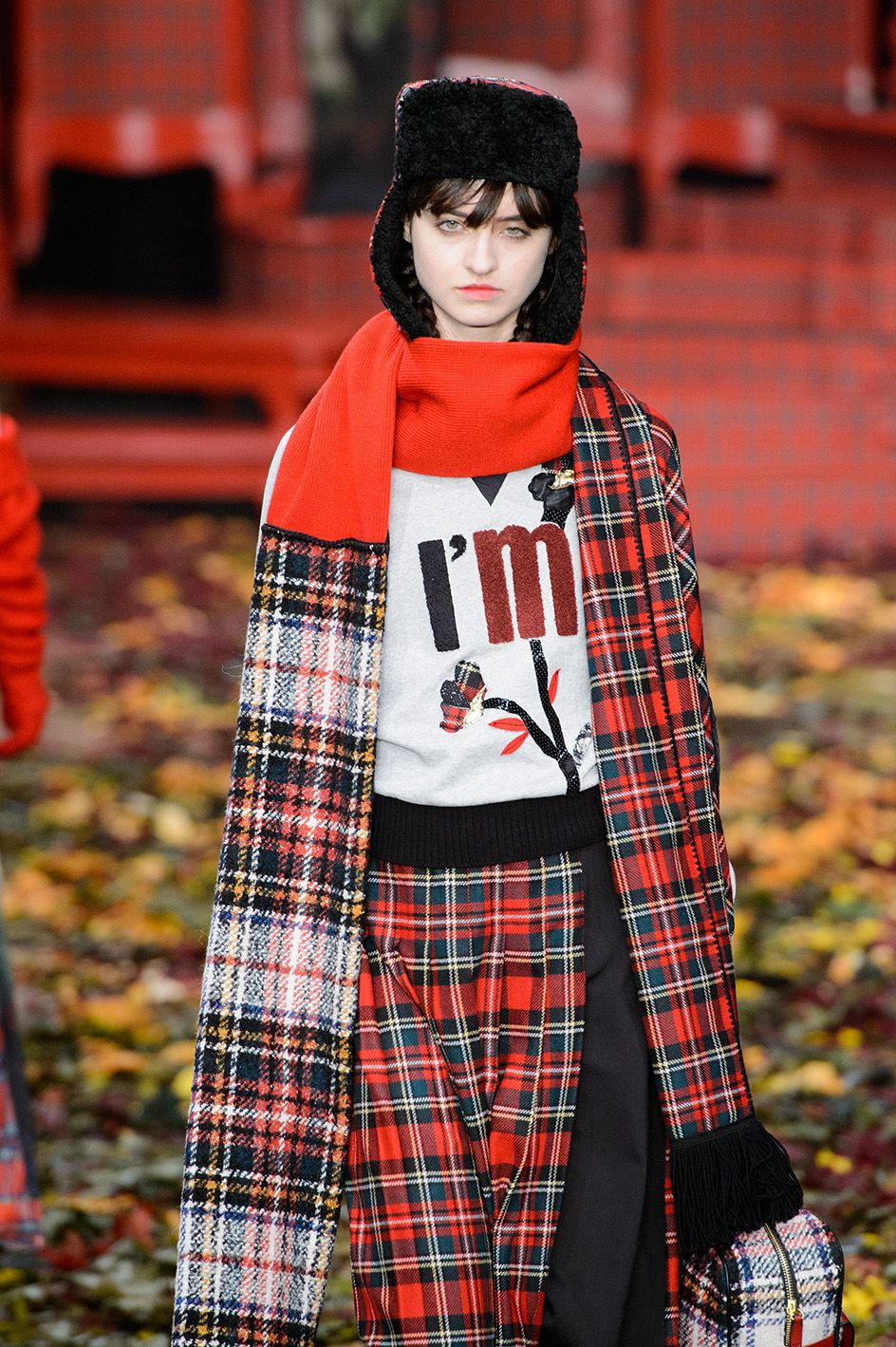 This fw15 16, tartan is a great stylish option. From I'm Isola Marras
