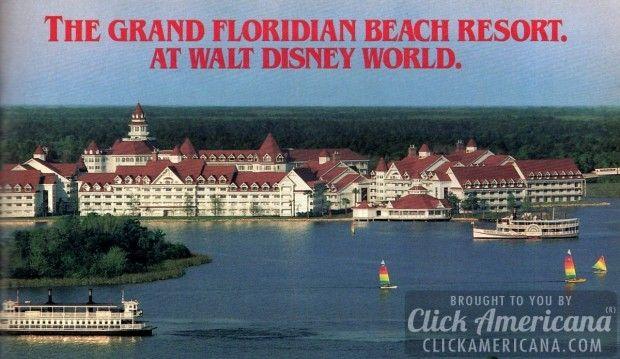 Grand Floridian Beach Resort opens at Disney World (1988) - Click Americana