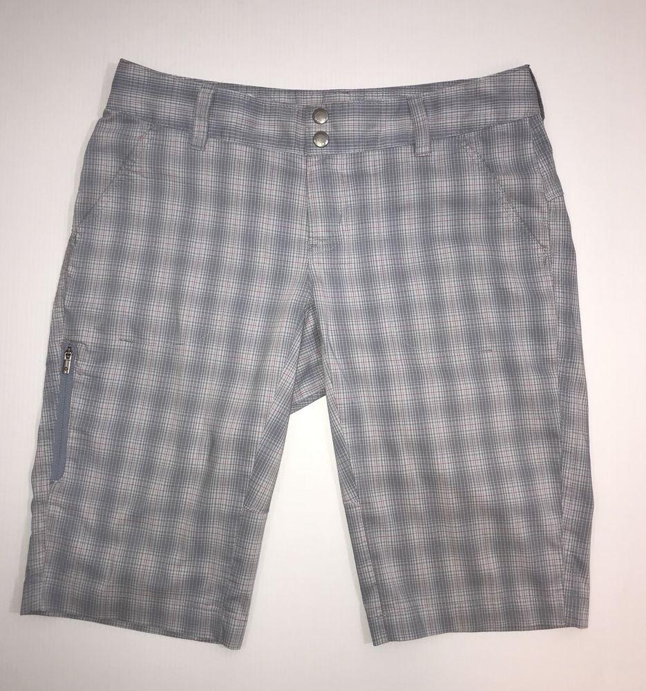 pretty cool purchase newest a few days away Columbia Womens Size 6 Bermuda Shorts Omni Wick Gray Pink ...