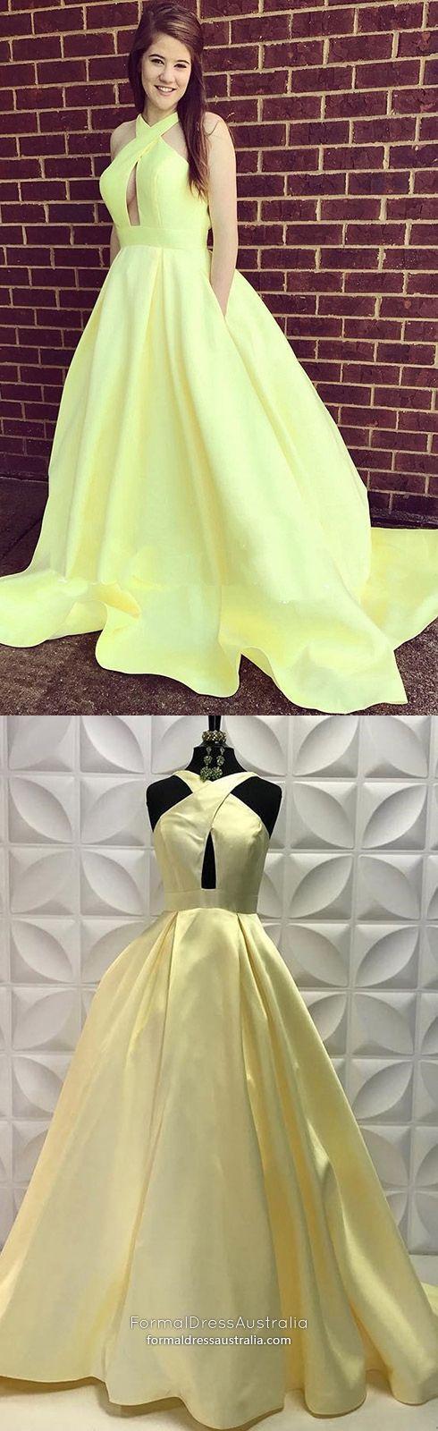 ed594a077f Yellow Formal Dresses Long