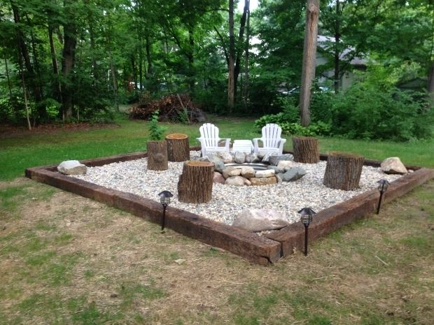 Photo of River Rock Fire Pit – Fire Pit Ideas