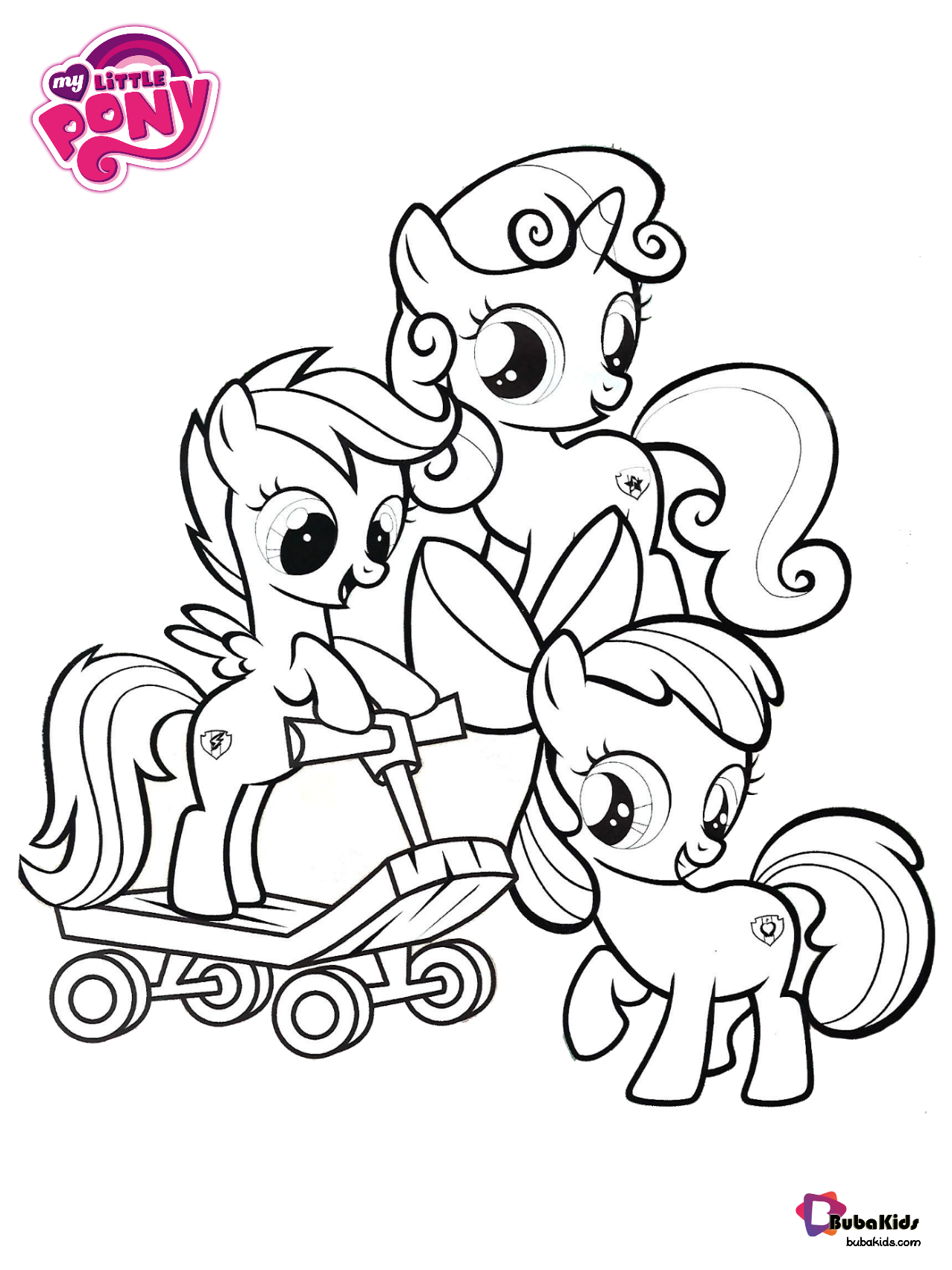 Free Download My Little Pony Best Of Cutie Mark Crusaders Printable Coloring Pages Coll In 2020 My Little Pony Coloring My Little Pony Printable Horse Coloring Pages