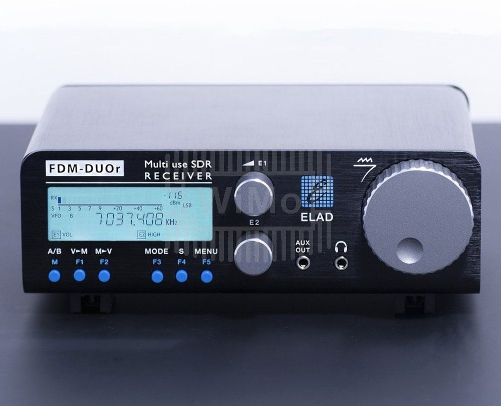 Fdm Duo R Sdr Ricevitore Di Elad Wifi Umts 3g Gsm Antennas Radio Preselector For Sw Receivers Shortwave Receiver From 10 Khz To 54 Mhz Similar Technology As The Well Known And Radios Offers Up Additional Optional