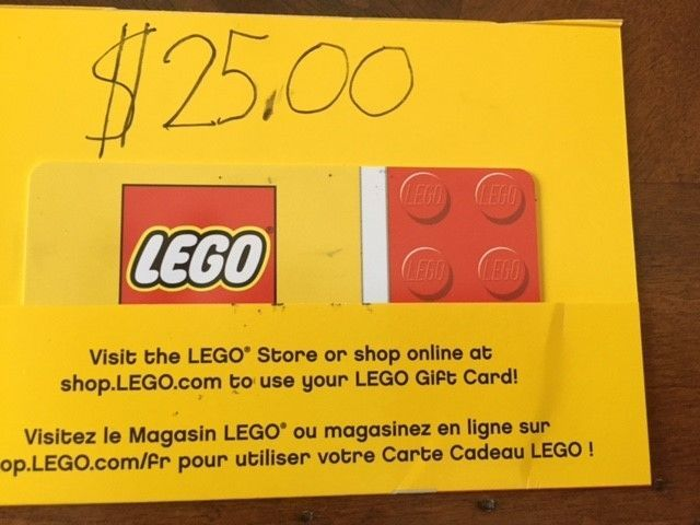 Coupons Giftcards Lego Store Gift Card 25 Coupons