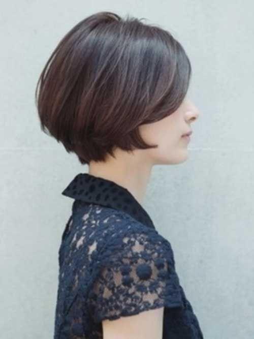 Corte de pelo hongo desvanecido para mujer
