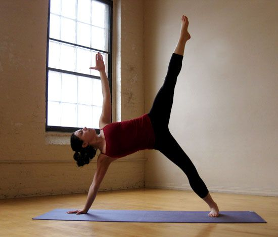 Strike A Yoga Pose Balancing Star Beautiful Yoga