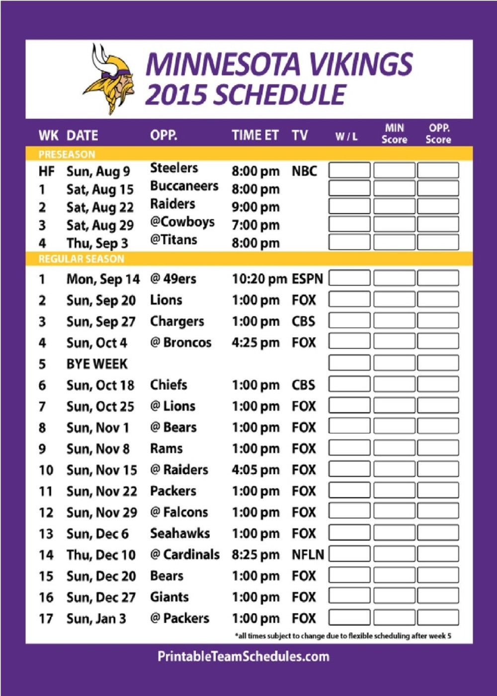 Sports fans send a greeting card with the 2015 football schedule sports fans send a greeting card with the 2015 football schedule on it to your kristyandbryce Gallery