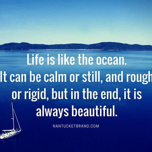 Quotes About Sailing And Life Unique Life Is Like The Oceannautical Quote Sailing Ocean