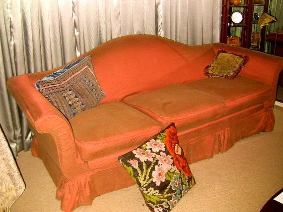 camelback sofa slipcover instructions   Slipcovered sofa ...