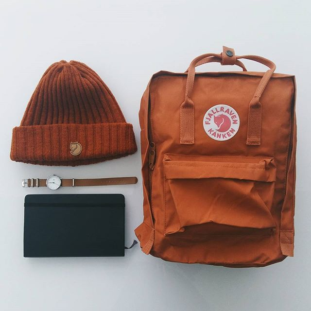 Aesthetically Pleasing Kanken Brick Backpack Outfit Hipster Bags Mochila