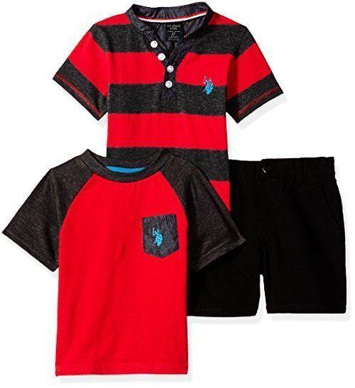 Polo Assn U.S Boys Toddler Short Select SZ//Color.