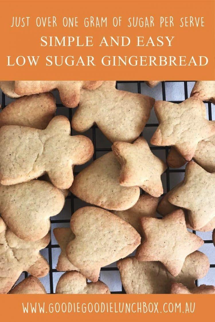 Simple And Easy Low Sugar Gingerbread Cookies