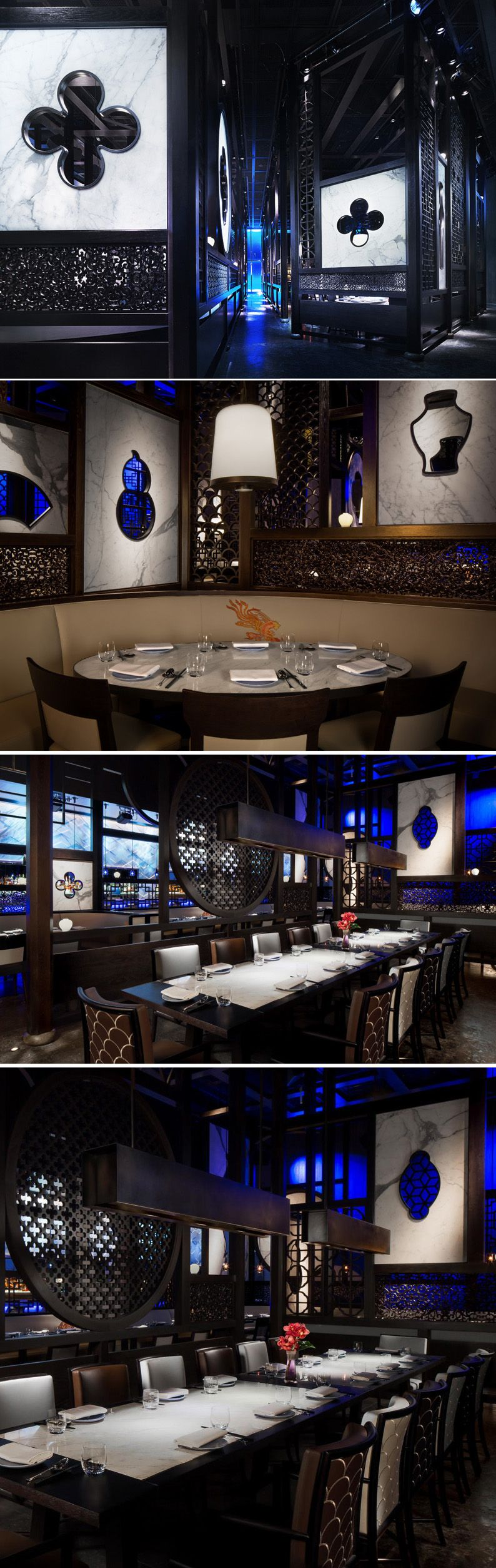 Pin by mark sa on pinterest restaurant - Chinese restaurant interior pictures ...