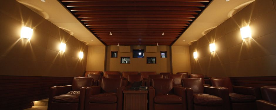 Home Theater Seating Home Theater Pinterest Theatre Design