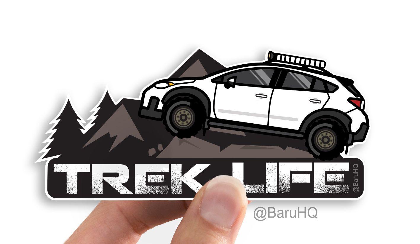 Decal vinyl JDM Sticker for Subaru WRX STI rally block AWD Do It On All Fours