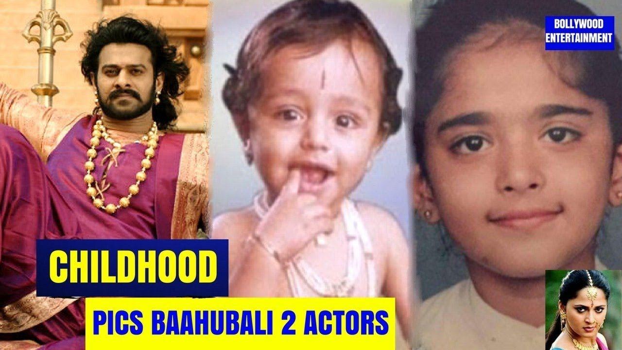 Bahubali 2 Actors Childhood Unseen Pics 2017