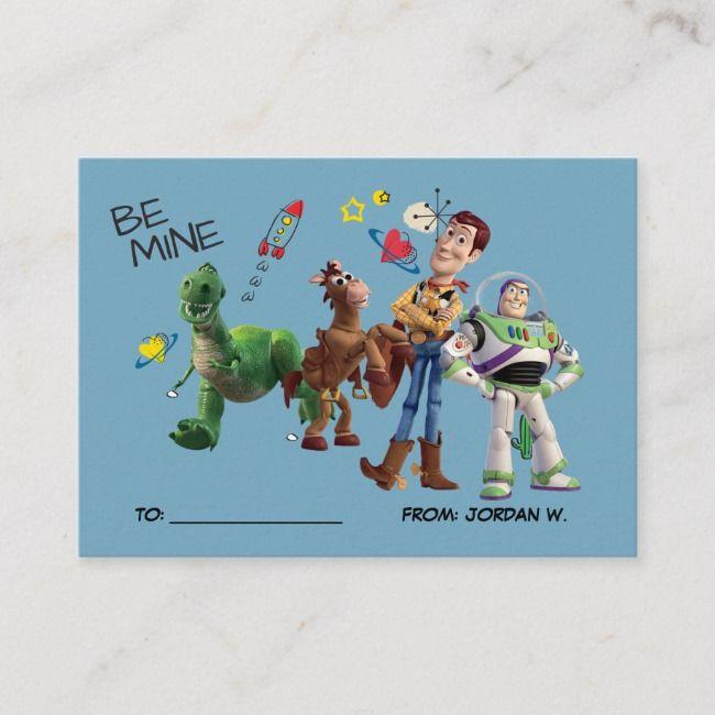 Toy Story | Valentine's Day 100pk Card | Zazzle.com