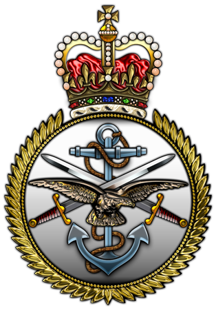 British Military Forces Insignia 3d Military Insignia 3d