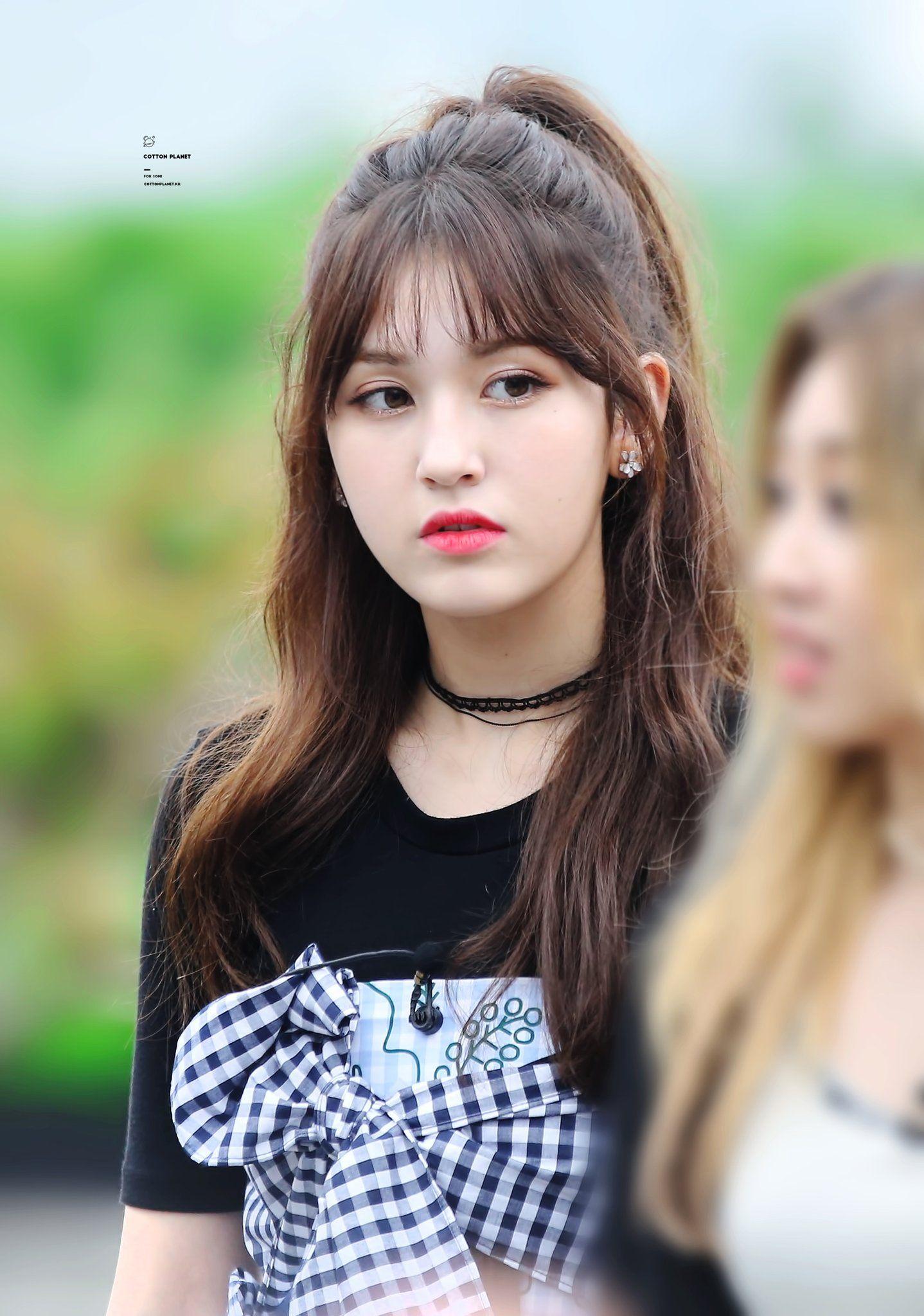 Somi Pics Somi1stwin On Twitter Jeon Somi Somi Kawaii Hairstyles