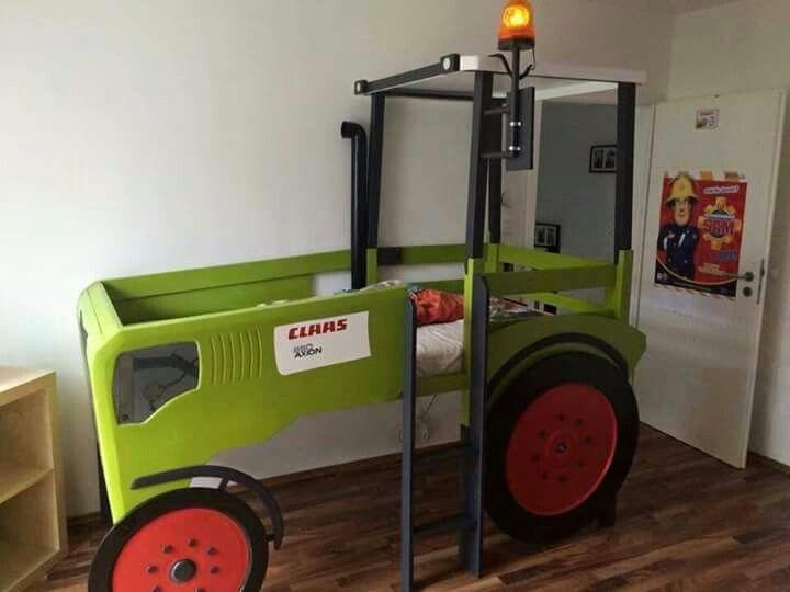 kinderbett traktor