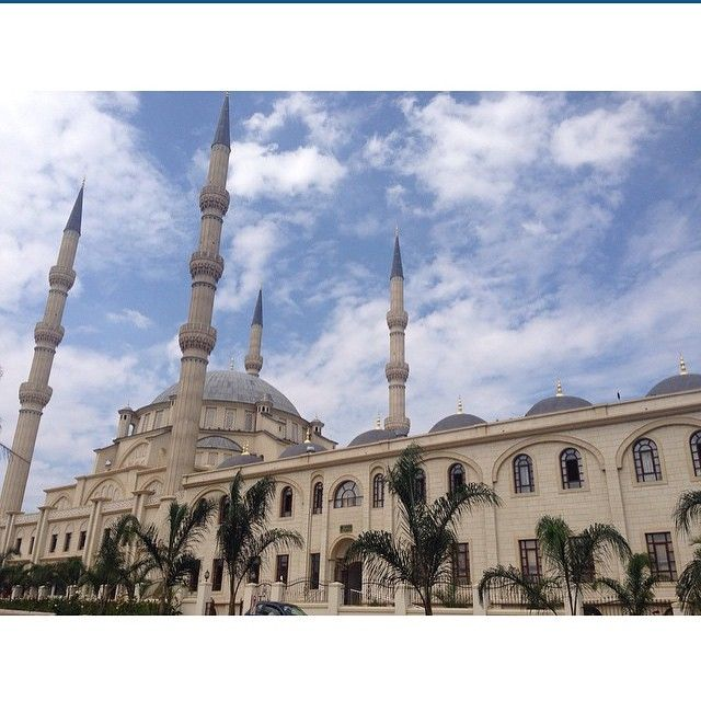 Nizamiye Masjid, Johannesburg, South Africa (Submitted by @shar_leyne)