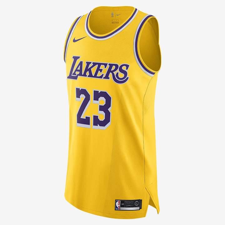cheaper e4e4a a0c45 LeBron James Icon Edition Authentic (Los Angeles Lakers ...