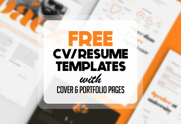 Free Resume Templates For   Freebies  Graphic Design