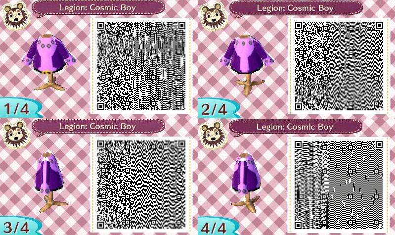 A C Pattern Legions Cosmic Boy Cosmic Boy Animal Crossing