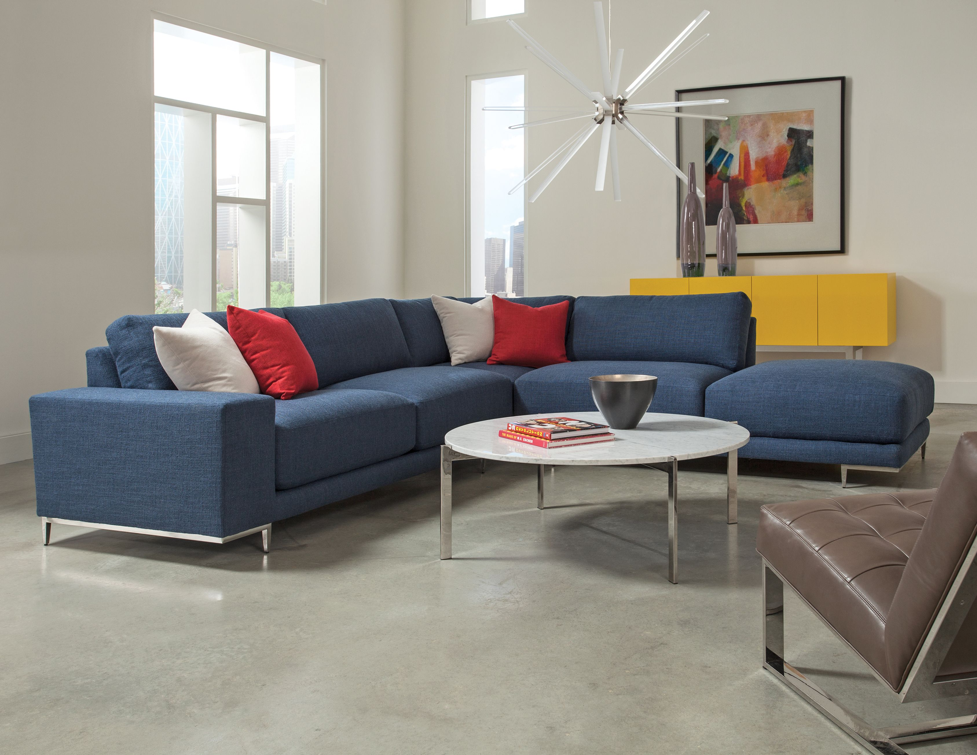 Hangover Modular Sectional Sofa With Drop In Cocktail Table And Milo Baughman Ez Rider Armless Lo Modular Sectional Sofa Custom Modern Furniture Sectional Sofa