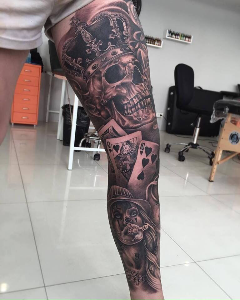 Pin By Venislav On Foot Tattoo Leg Tattoos Tattoos For Guys