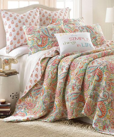 Love This Jubilee Reversible Quilt Set By Levtex Home On