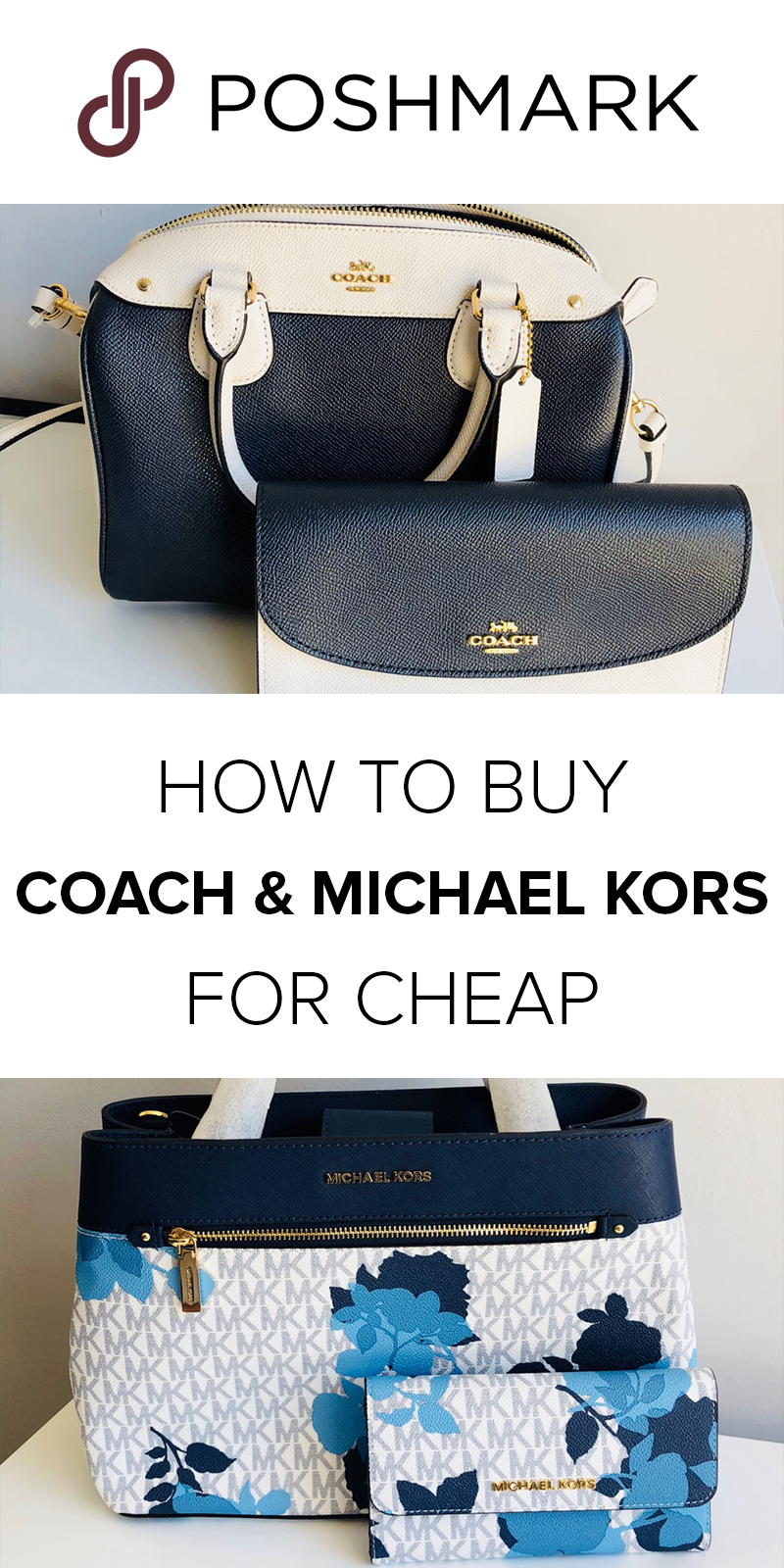 59be73de74d Get Coach   Michael Kors designer handbags for up to 70% off on Poshmark.  Download the app to shop!