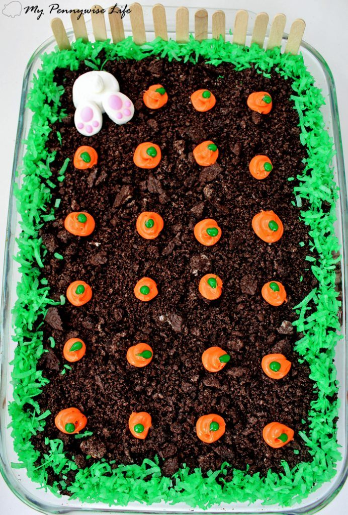 Easy Easter Dirt Cake Recipe With Images Easter Desserts